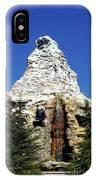 Matterhorn Disneyland IPhone Case