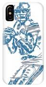 Matthew Stafford Detroit Lions Pixel Art 6 IPhone Case