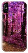 Matthiessen State Park Trail False Color Infrared No 2 IPhone Case