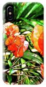 Maui Floral IPhone Case