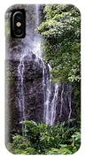 Maui Waterfall IPhone Case