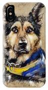 Max The Military Dog IPhone Case
