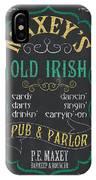 Maxey's Old Irish Pub IPhone X Case