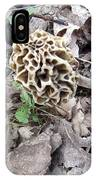 May Morel Mushroom IPhone Case