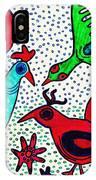 Mayan Birds IPhone Case