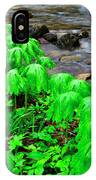 Mayapples And Middle Fork Of Williams River IPhone Case