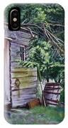 Mayne Island Sawmill IPhone Case