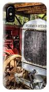 Mccormick Deering Tractors II IPhone Case
