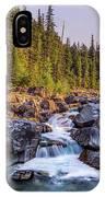 Mcdonald Creek Falls IPhone Case