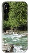 Mcdonald Creek Panorama IPhone Case
