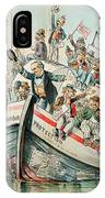 Mckinley Cartoon, 1896 IPhone Case