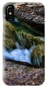 Mckinney Falls State Park-lower Falls 4 IPhone Case