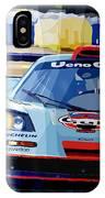 Mclaren Bmw F1 Gtr Gulf Team Davidoff Le Mans 1997 IPhone Case