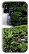 Mclean Falls In Southland New Zealand IPhone Case