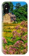 Meadow House At Longwood IPhone Case