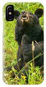 Meadow Itch Bear IPhone Case