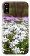 Meadow With Flowers At Botanic Garden In The Blue Mountains IPhone X Case