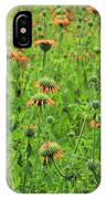 Meadow With Orange Wildflowers IPhone Case