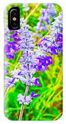 Mealy Blue Sage IPhone Case