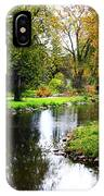 Meandering Creek In Autumn IPhone Case
