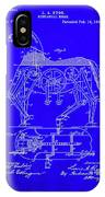 Mechanical Horse Patent Art 1b           IPhone Case