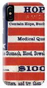 Medicine: Cough Cure IPhone Case