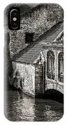 Medieval Architecture Of Bruges IPhone Case