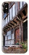 Medieval British Architecture - Dick Turpin's Cottage Thaxted IPhone Case