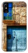 Medieval Spanish Gate And Balcony IPhone Case