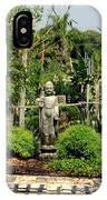 Meditation Garden IPhone Case
