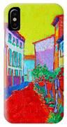 Mediterranean Cityscape IPhone Case