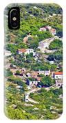 Mediterranean Village On Island Of Vis IPhone Case