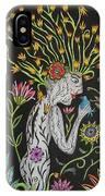 Medusa De Flores IPhone Case
