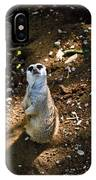 Meerkat     Say What IPhone Case