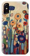 Meet Me In My Garden Dreams IPhone Case by Jennifer Lommers
