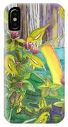 Mejiro Birds With Ohia Flower IPhone Case
