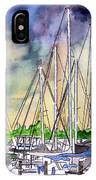 Melbourne Florida Marina IPhone Case