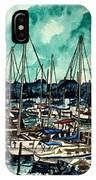 Melbourne Florida Sailing Marina IPhone Case