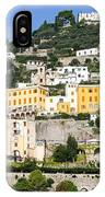 Mellow Yellow Buildings IPhone Case