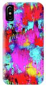 Melting Flowers Abstract  IPhone Case