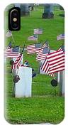 Memorial Day Salute IPhone Case