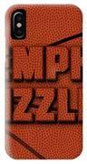 Memphis Grizzlies Leather Art IPhone Case