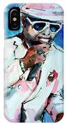 Memphis Music Legend William Bell On Stage 1 IPhone Case