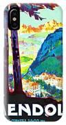 Mendola, Italy, Landscape IPhone Case