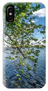 Mendota Lake IPhone Case