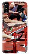 Mens Hurdles 2 IPhone Case