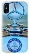Mercedes Benz Hood Ornament IPhone Case