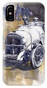 Mercedes Benz Ssk 1930 Rudolf Caracciola IPhone Case