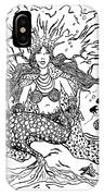 Mermaid Queen IPhone Case