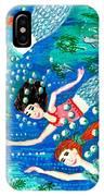Mermaid Race IPhone Case